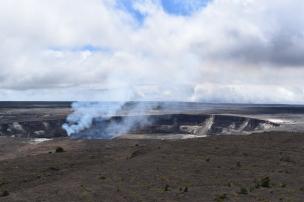 Volcano fumes in Hawaii
