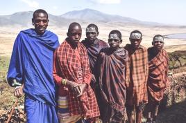 Maasai warriors in Tanzania